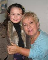 Avec Mimie Mathy