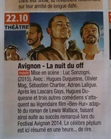 Annonce Diffusion France 4 Ben Hur