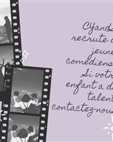 Agence de Comédiens enfants recrute - CYandSO