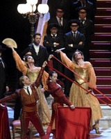La Traviata, mise en scène de Benoît Jacquot avec Francesca Domenichini