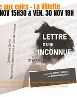 LETTRE D'UNE INCONNUE© REBECCA