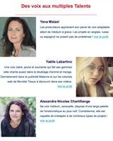Alexandra Nicolas Chartillange sur Voxing Pro