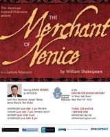 David Serero dans Shylock du Marchand de Venise de Shakespeare