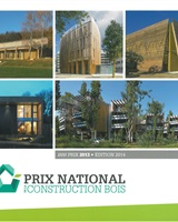 Prix National de la construction Bois - 2013