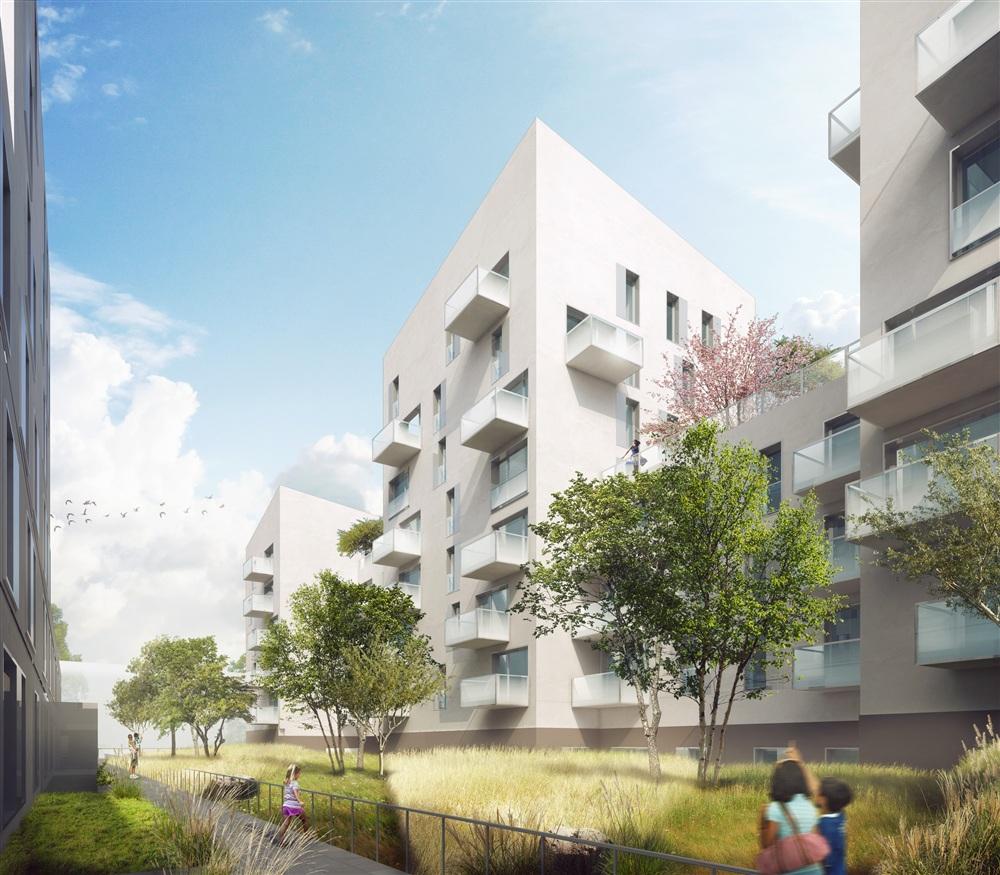 Cobe architecture et paysage for Perspective jardin 78
