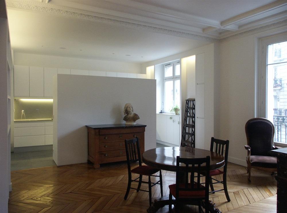 Sylvie cahen architecture urbanisme rue chasles paris 12 - Moulure appartement haussmannien ...