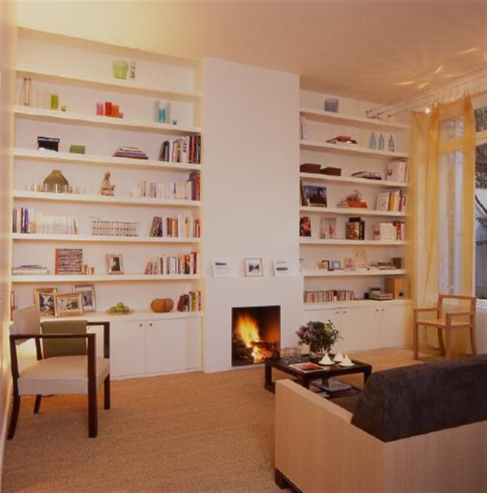 Sylvie Cahen Architecture Urbanisme Rue D Amsterdam Paris 09 # Bibliotheque Sur Mesure Salon