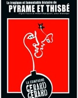 Pyrame et Thisbe Affiche<br />