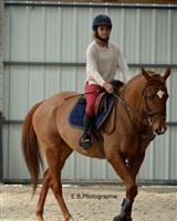 Jade Amoussou équitation<br />