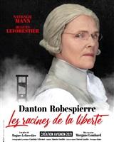 Danton Robespierre - Affiche Avignon 2021<br />