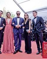 Montée des marches Cannes<br />