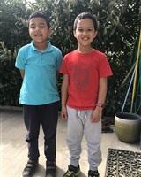 Rayan et Sofian Yamani<br />