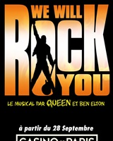 Affiche We Will Rock You<br />