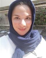 Tiara PAKER voilée selfie<br />