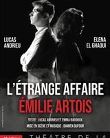 Affiche l&acute;étrange affaire Emilie Artois<br />