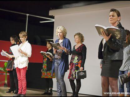 atelier adultes de Pascale Cousteix à l'occasion de la journée de la femme
