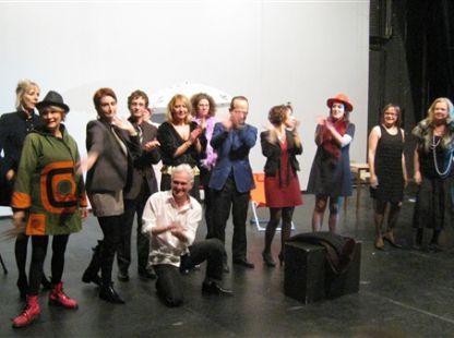 atelier Pascale Cousteix, journée portes ouvertes décembre 2012
