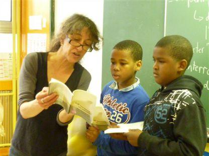 Comité de lecture en élémentaire avec Anne Marenco