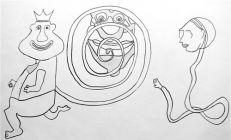 Lever de rideau marionnettique