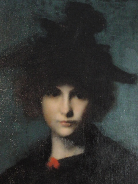 Mademoiselle Leroux Jean-Jacques Henner